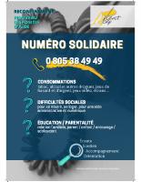 Ligne solidaire – Affiche
